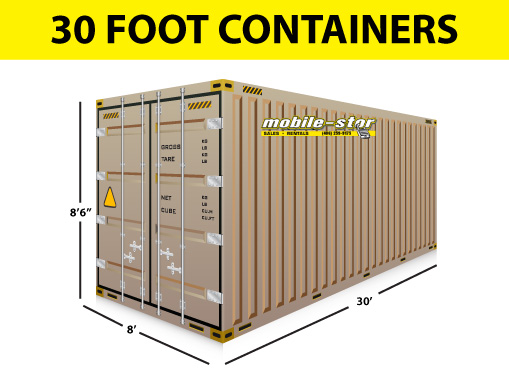 30 foot container